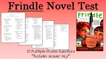 Frindle Novel Test