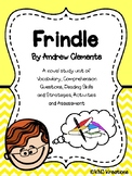 Frindle Novel Unit Packet