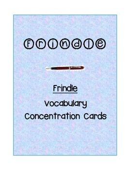 Frindle Novel Vocabulary Flash Cards