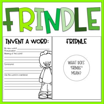 Frindle / Read Aloud Book Companion