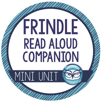 Frindle Read Aloud Companion - Listening Comprehension, Small Group