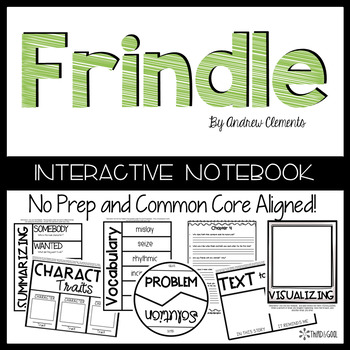 Frindle:  Reading Response Activities