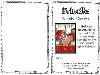 Frindle Summarizing Booklet