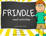 Frindle Unit Activities