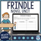Frindle Novel Study Printable and Digital Literature Unit