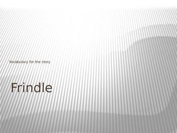 """""""Frindle"""" Vocabulary"""