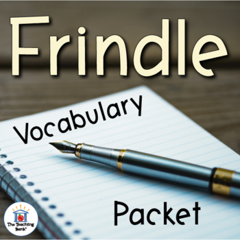 Frindle Vocabulary Packet