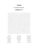 Frindle Vocabulary Word Search- Chapters 1-2