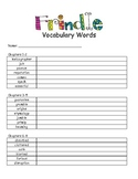 Frindle Vocabulary