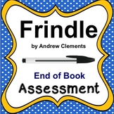 Frindle by Andrew Clements Assessment