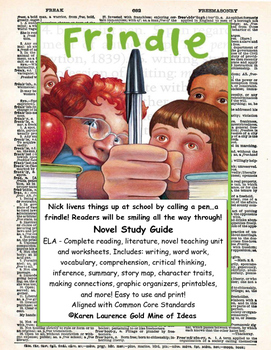Frindle by andrew clements ela novel literature study guide complete publicscrutiny Gallery
