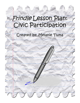 Frindle by Andrew Clements: Lesson on Civic Participation