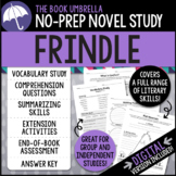 Frindle Novel Study - Distance Learning - Google Classroom compatible