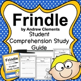 Frindle by Andrew Clements Novel Study Guide