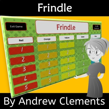 Frindle by Andrew Clements Novel Study Review