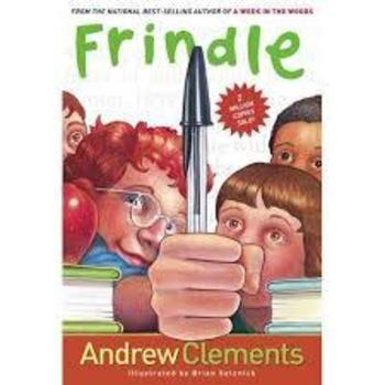 Frindle by Andrew Clements Novel Unit
