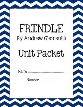 Frindle by Andrew Clements Unit