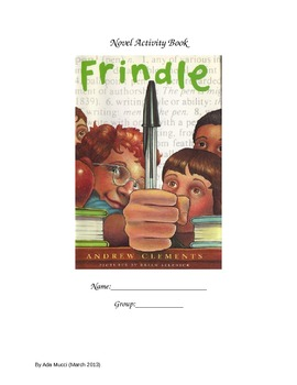 Frindle workbook