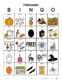 Fringe Vocabulary Fall Bingo Activity