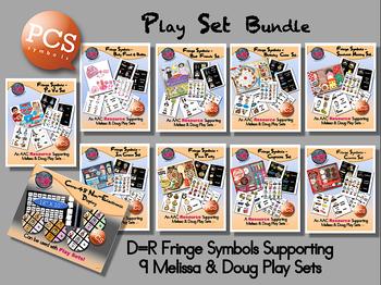 Fringe Symbols - Play Set Bundle - PCS