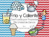 Frio y Caliente: Hot and Cold: Sorting by Properties