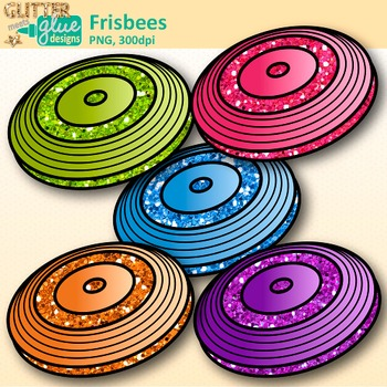 Frisbee Clip Art {Sports Equipment for Physical Education Teachers}
