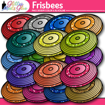 Frisbee Clip Art | Sports Equipment for Physical Education Teachers