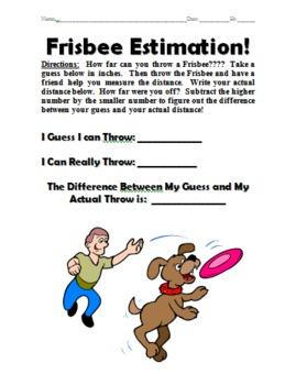 Frisbee Estimation