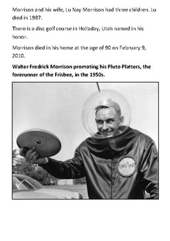 Frisbee Handout