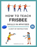 Frisbee Unit Plan Resource Pack for PE Class