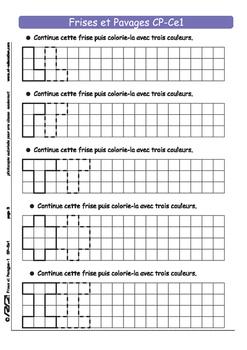 Frises et Pavages1 CP-Ce1