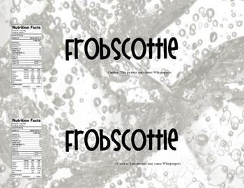 Frobscottle Label- The BFG