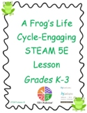 Frog Life Cycle Hands-On Lesson and Activities