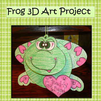 Frog 3D Craft