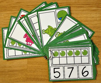 Frog Activities: Froggy Fun Task Cards