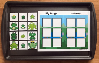 "Frog Adapted Book And Vocabulary Activities: ""The Hungry Hungry Frog"""