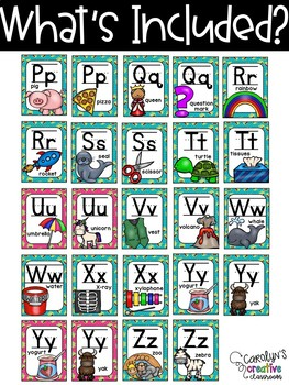 Frog Alphabet Posters - Frog Decor - Set #2
