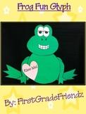 Frog Animal Fun Glyph Craftivity