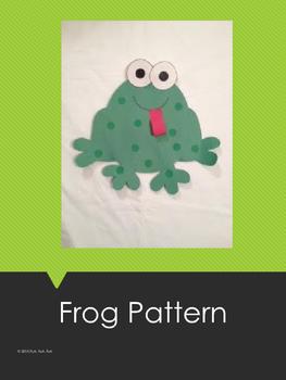 Frog Art Pattern