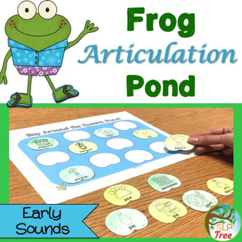 Frog Articulation Pond: Early Developing Sounds