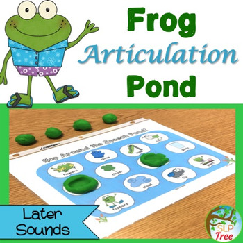 Frog Articulation Pond: Later Developing Sounds