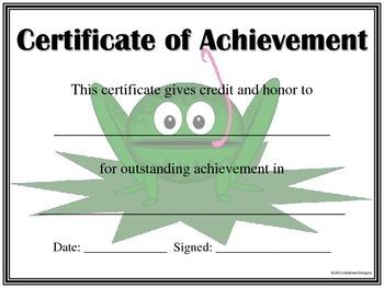 Frog Awards Set