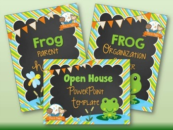 Frog Back-to-School Timesaver Bundle