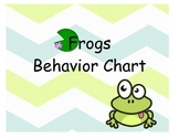 Frog Behavior Chart