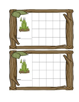Incentive Charts 2 with a Frog Theme