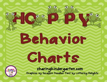 Frog Behavioral Charts