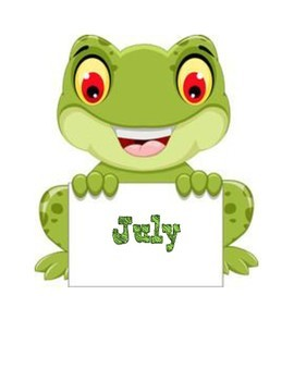 Frog Birthday Bulletin Board Set