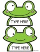 Frog Bulletin Board Set {Our Pad}