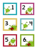 Frog Calendar Set
