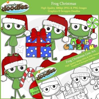 Frog Christmas